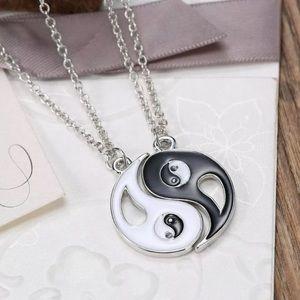 2pcs Yin Yang Necklace
